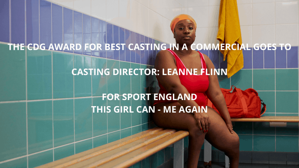 Best Casting in a Commercial - Sport England - This Girl Can