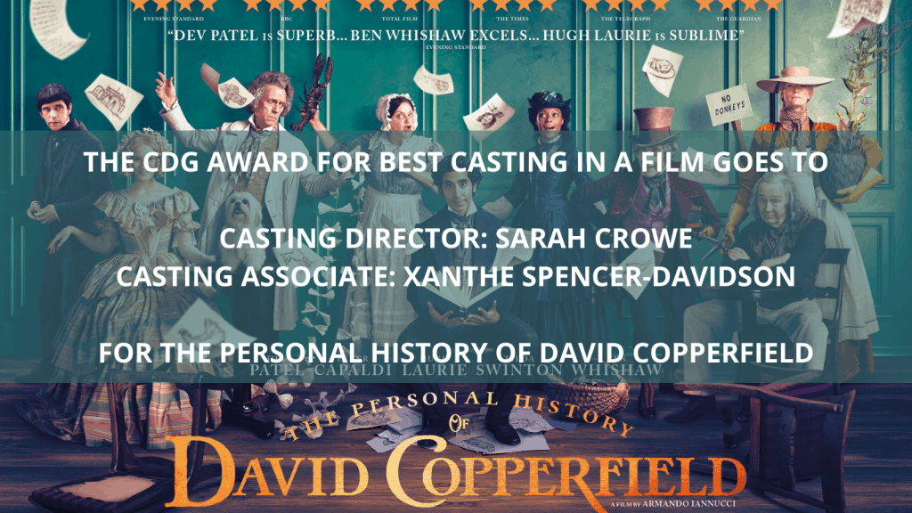 Best Casting in a Film - The Personal History of David Copperfield